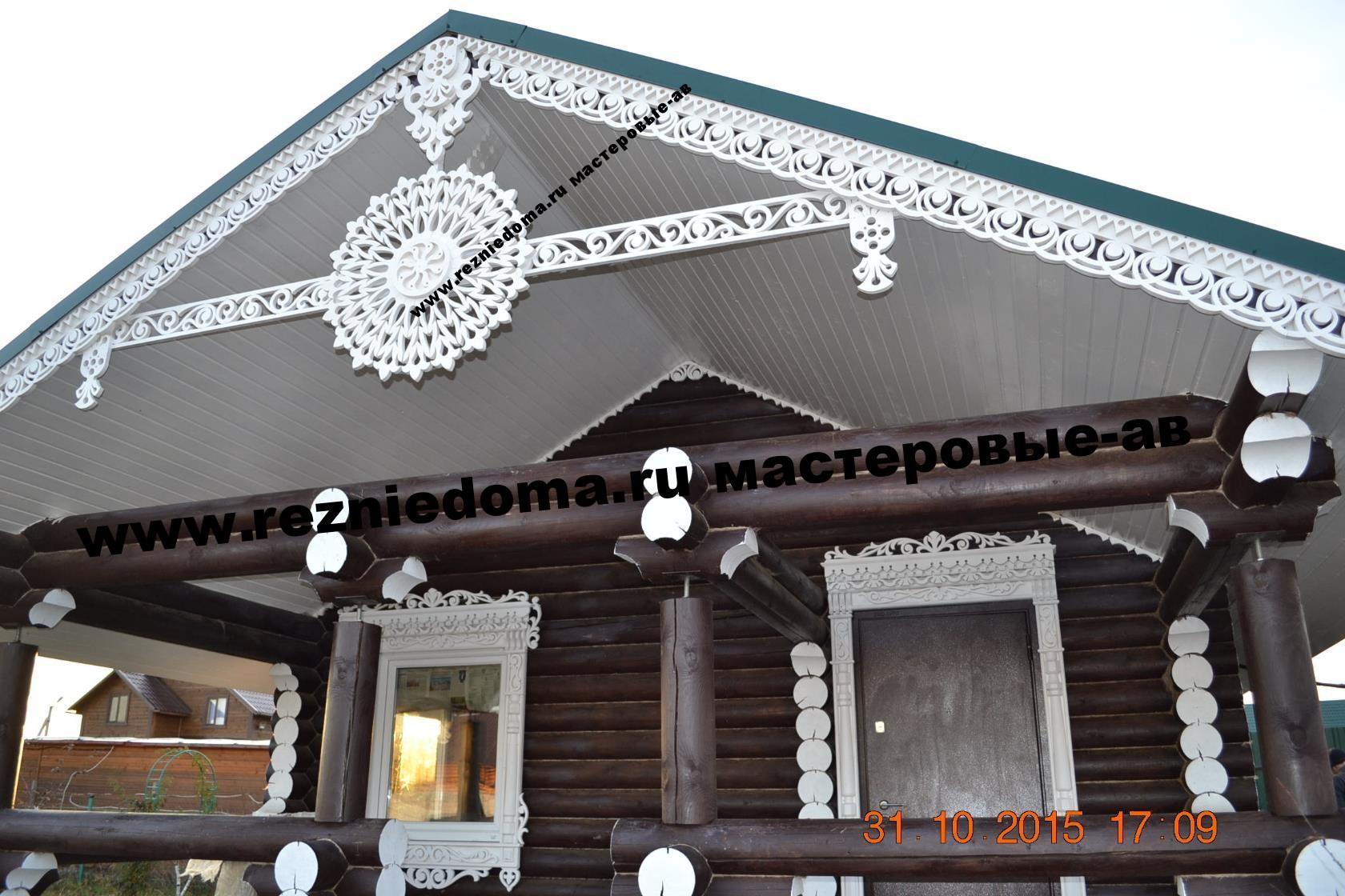 Резные украшения деревянного дома: особенности резьбы