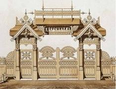 Резной декор деревянного дома