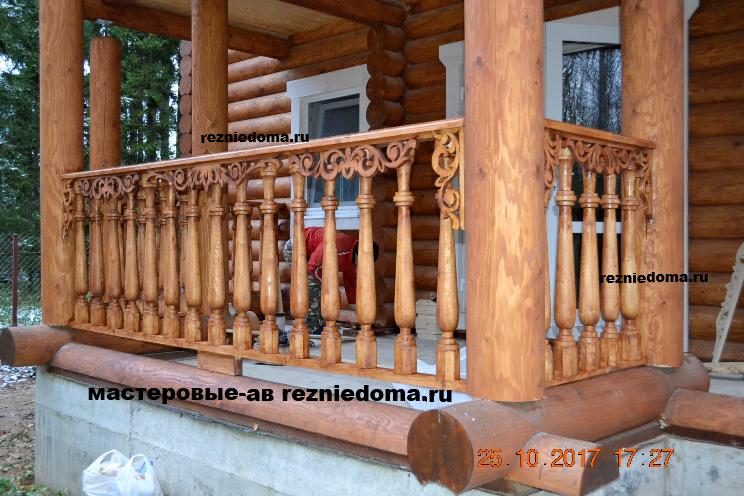 Деревянные ступени, перила и балясины на заказ в Алматы